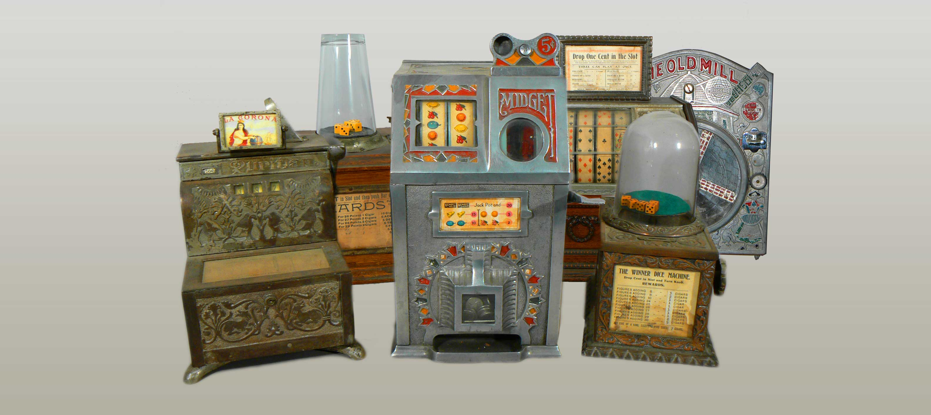 antique mechnical games machines