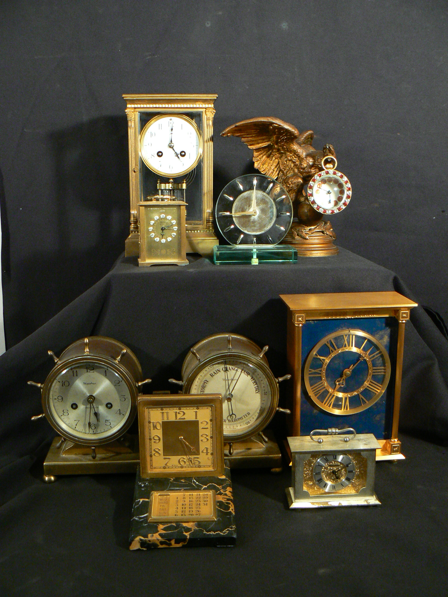of course we buy antique clocks
