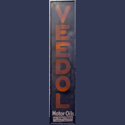 Veedol Pennsylvania motor oil . Tin