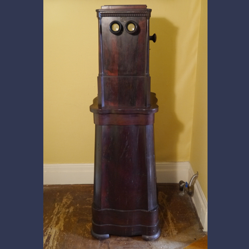 Victorian  Rosewood Becker floor model stereo viewer