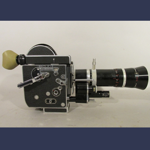 1950's  Swiss Bolex 16 mm movie camera