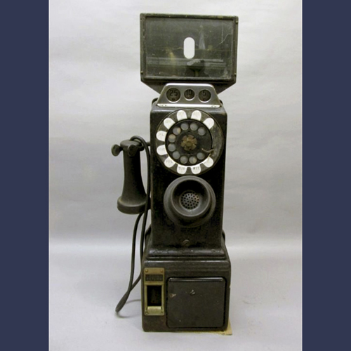 1930s Bell Telephone pay station
