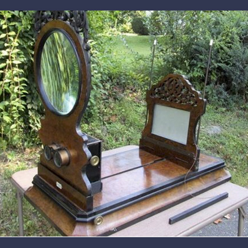 Victorian tabletop rosewood Stereoviewer